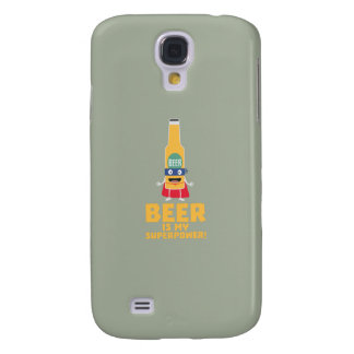 Beer is my superpower Zync7 Galaxy S4 Case