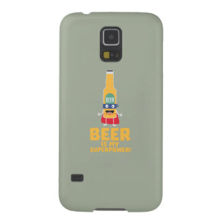 Beer is my superpower Zync7 Galaxy S5 Cover
