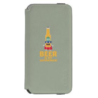 Beer is my superpower Zync7 Incipio Watson™ iPhone 6 Wallet Case