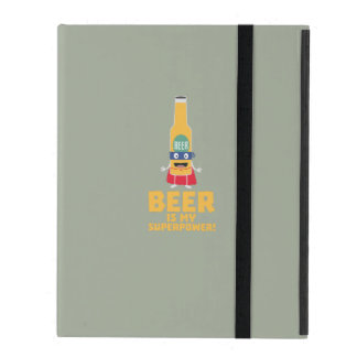Beer is my superpower Zync7 iPad Folio Case