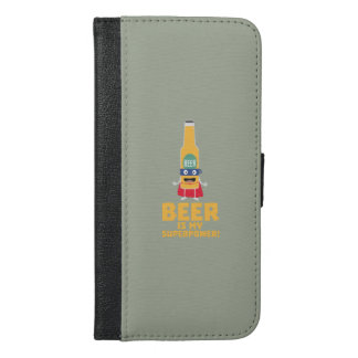 Beer is my superpower Zync7 iPhone 6/6s Plus Wallet Case
