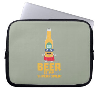 Beer is my superpower Zync7 Laptop Sleeve