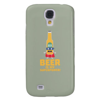 Beer is my superpower Zync7 Samsung Galaxy S4 Case