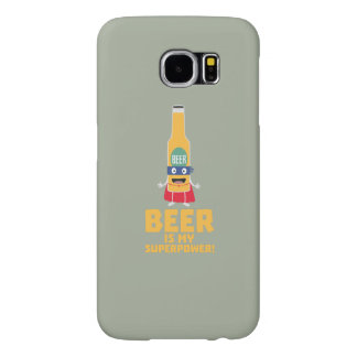 Beer is my superpower Zync7 Samsung Galaxy S6 Cases