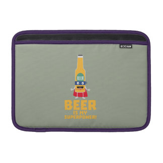 Beer is my superpower Zync7 Sleeve For MacBook Air