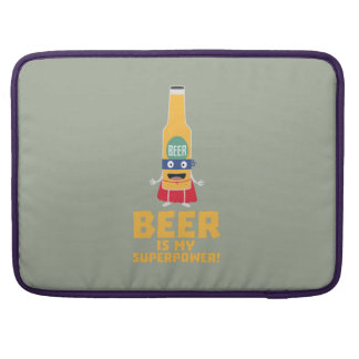 Beer is my superpower Zync7 Sleeve For MacBook Pro