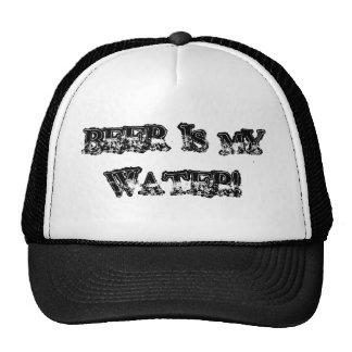 BEER IS MY WATER! HAT