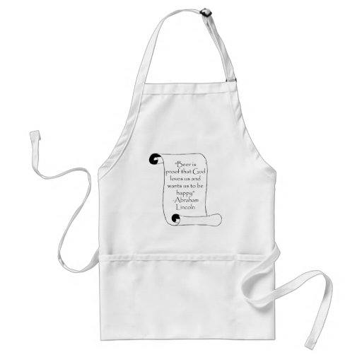BEER IS PROOF THAT GOD LOVES US ... APRONS