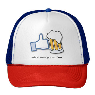 Beer is what everyone likes cap