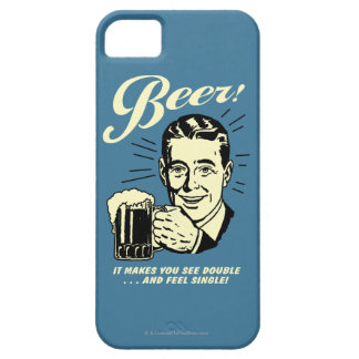 Beer: It Makes You See Double iPhone 5 Case