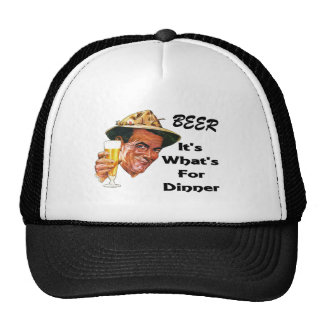 Beer - It's What's For Dinner! Cap