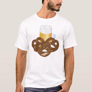 Beer jug and pretzels T-Shirt