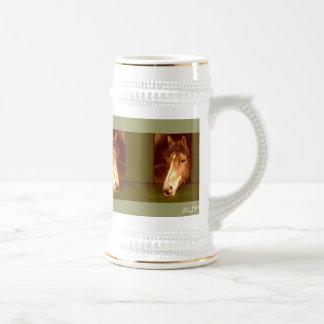 Beer jug for horse lovers coffee mug