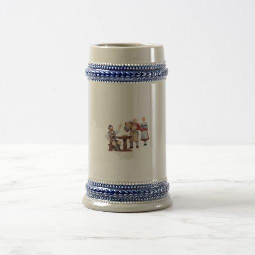 Beer jug coffee mug