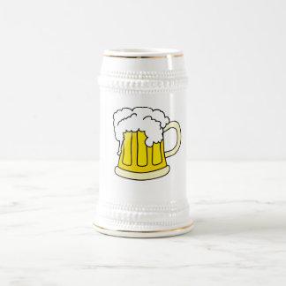 Beer jug with beer beer steins