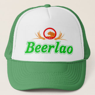 Beer Lao 3 Trucker Hat