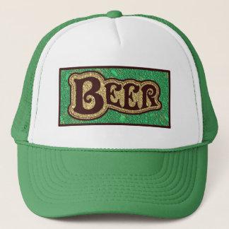 Beer Logo -  Mint GreenTexture Look Trucker Hat