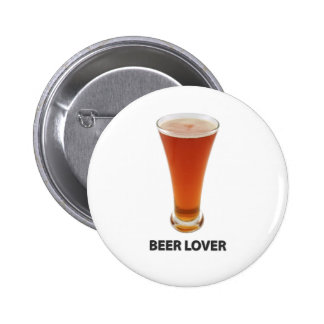Beer Lover Pinback Buttons