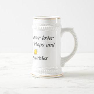 Beer lover beer stein. coffee mugs