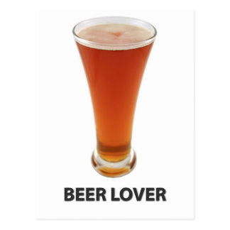 Beer Lover Postcard