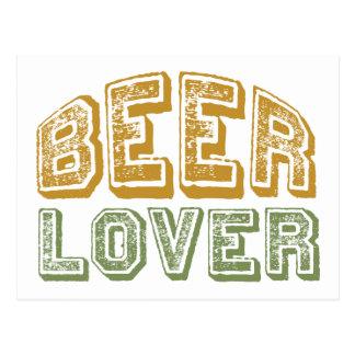 Beer Lover Postcard