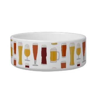 Beer Lover Print Bowl