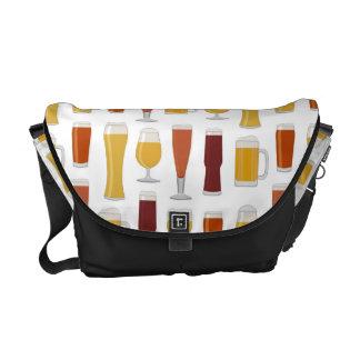 Beer Lover Print Commuter Bag