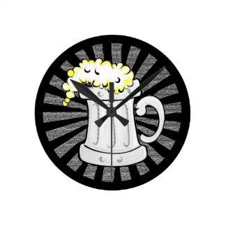 Beer Lovers Believe in Beeracles Wall Clocks