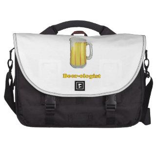 Beer lovers humor laptop bags