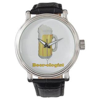 Beer lovers humor wrist watch