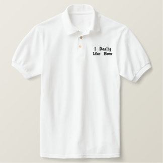 Beer Lovers Shirt Polo