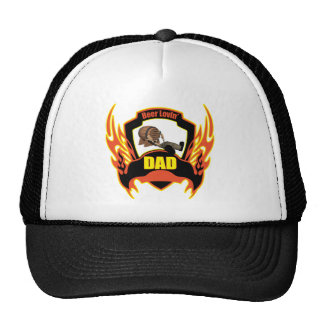 Beer Loving Dad Fathers Day Gifts Cap