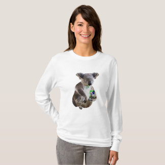 Beer loving koala T-Shirt
