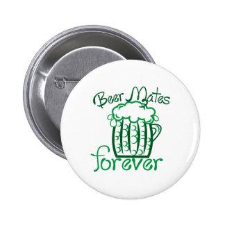 Beer Mates 6 Cm Round Badge