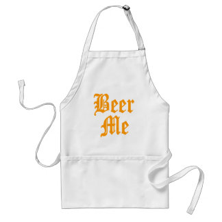 Beer Me Apron (In Old English)