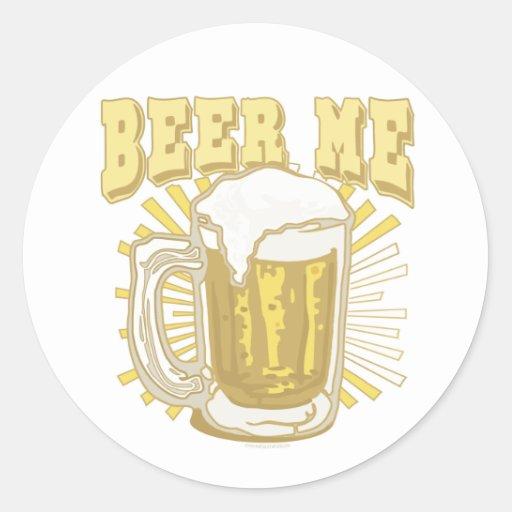 Beer Me Beer Gear by Mudge Studios Stickers