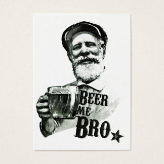 Beer me Bro Business Card