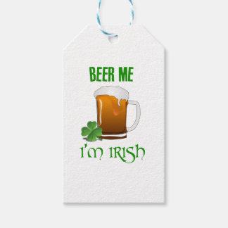 Beer Me I'm Irish Gift Tags