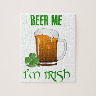 Beer Me I'm Irish Jigsaw Puzzle