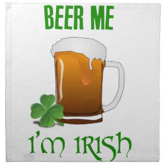 Beer Me I'm Irish Napkin