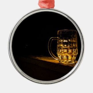 Beer... Metal Ornament