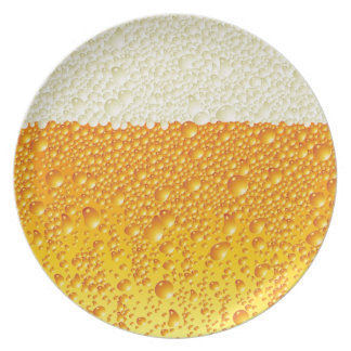 beer mousse plate