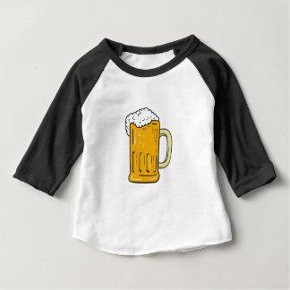 Beer Mug Drawing Baby T-Shirt