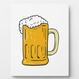 Beer Mug Drawing Plaque