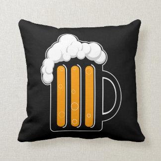 Beer mug pillow cushions
