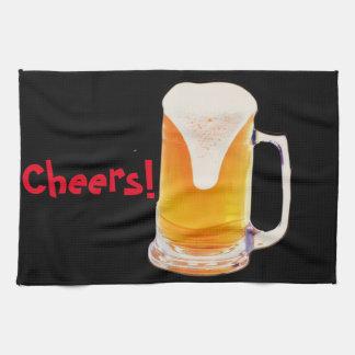 Beer Mug Tea Towel