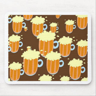 Beer Mugs Mouse Pad
