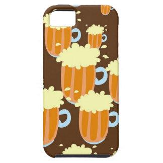 Beer Mugs Tough iPhone 5 Case
