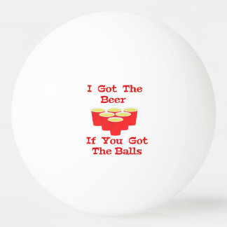 Beer n Balls Ping Pong Ball for Beer Pong