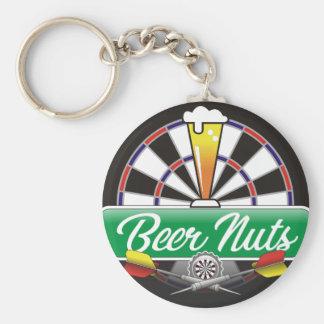 Beer Nuts Darts Team Key Ring